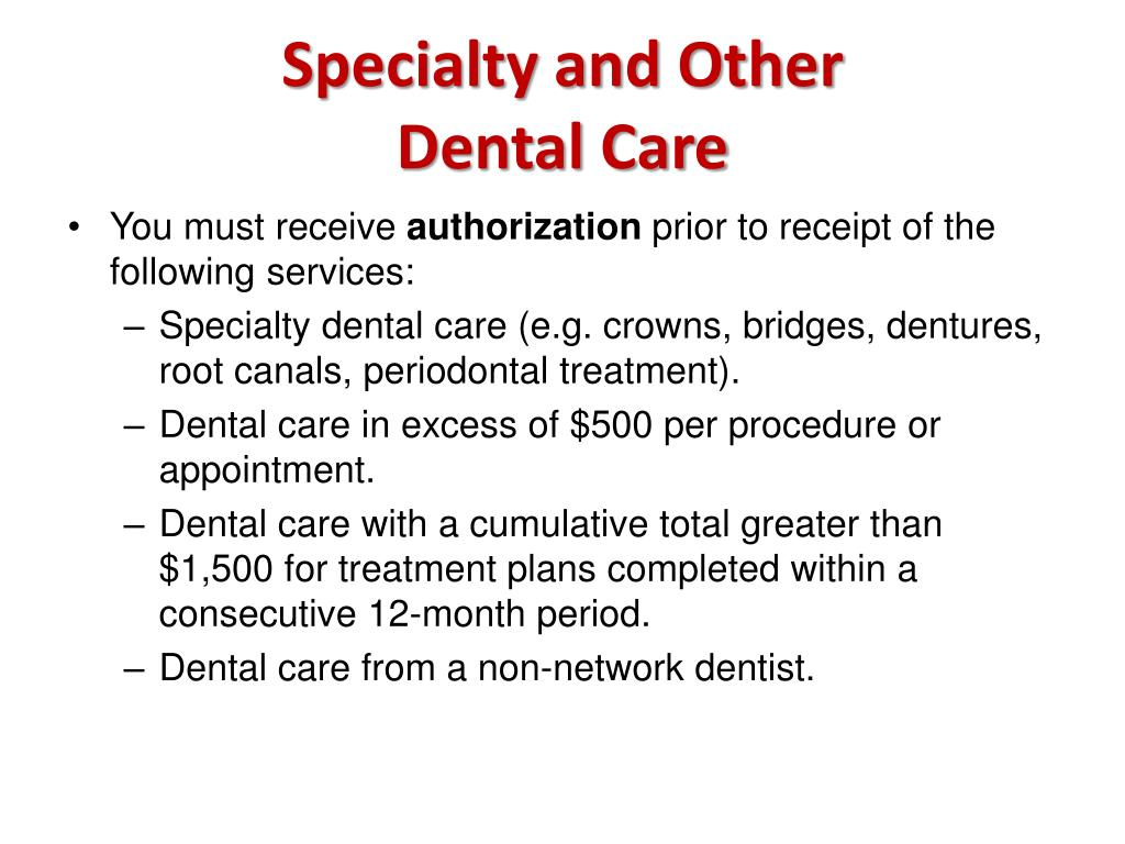 Specialty and Other