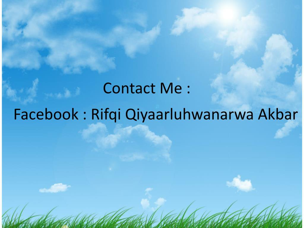 Contact Me :