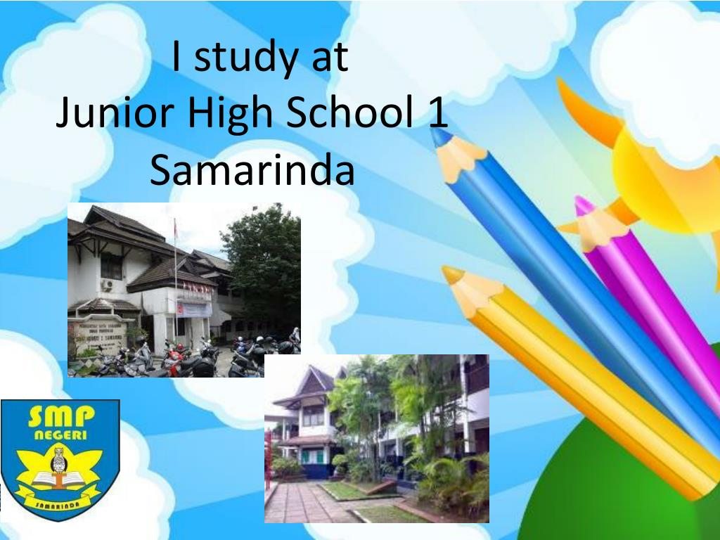 I study at