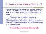 2 search plan postings ads con t17