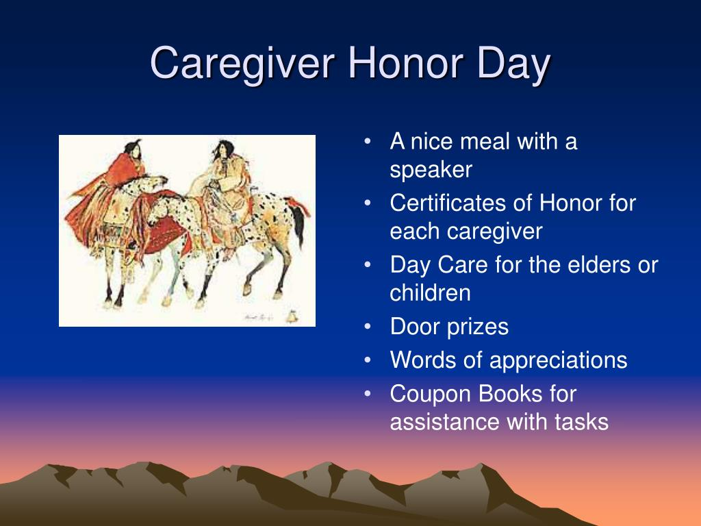 Caregiver Honor Day