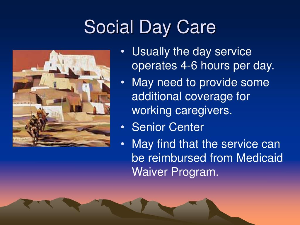 Social Day Care