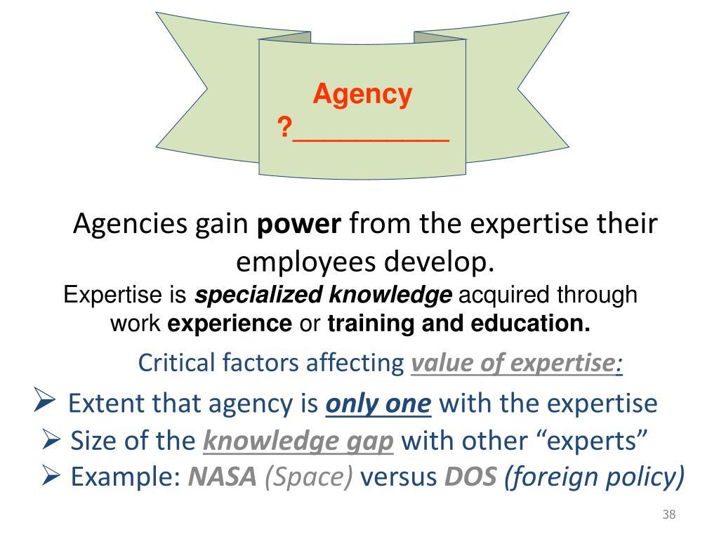 Agency ?__________