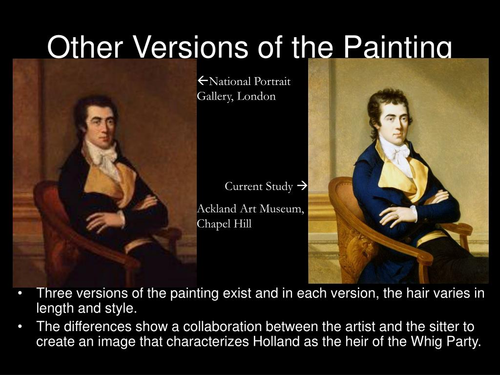 Other Versions of the Painting
