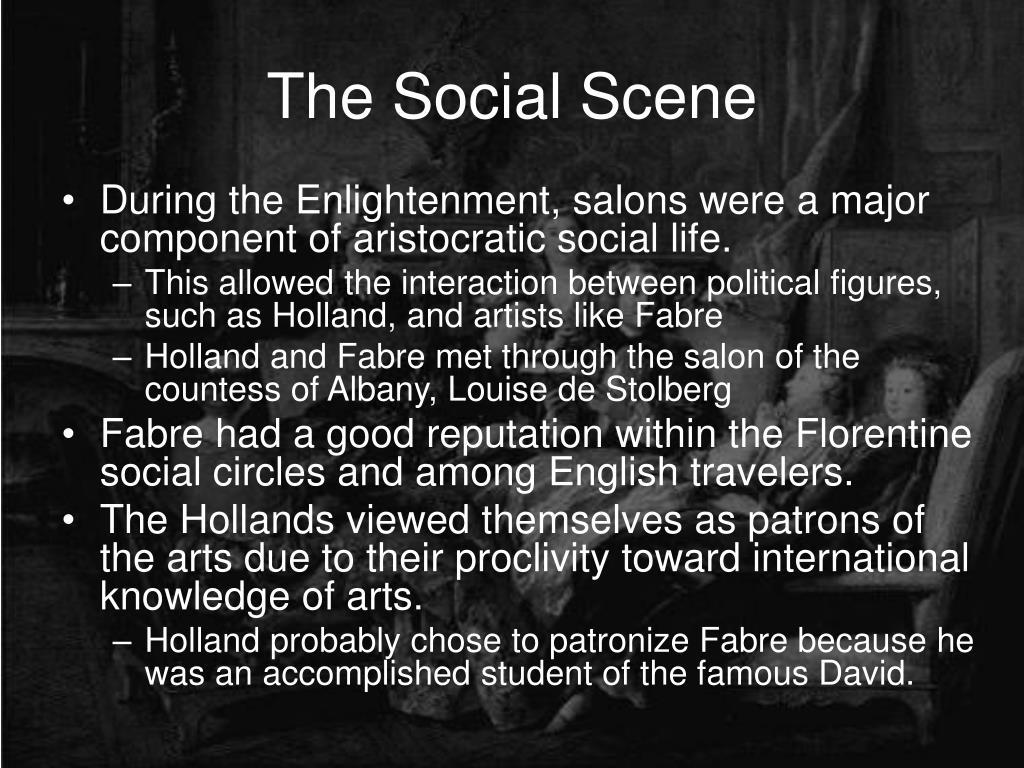 The Social Scene