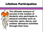 lifetime participation