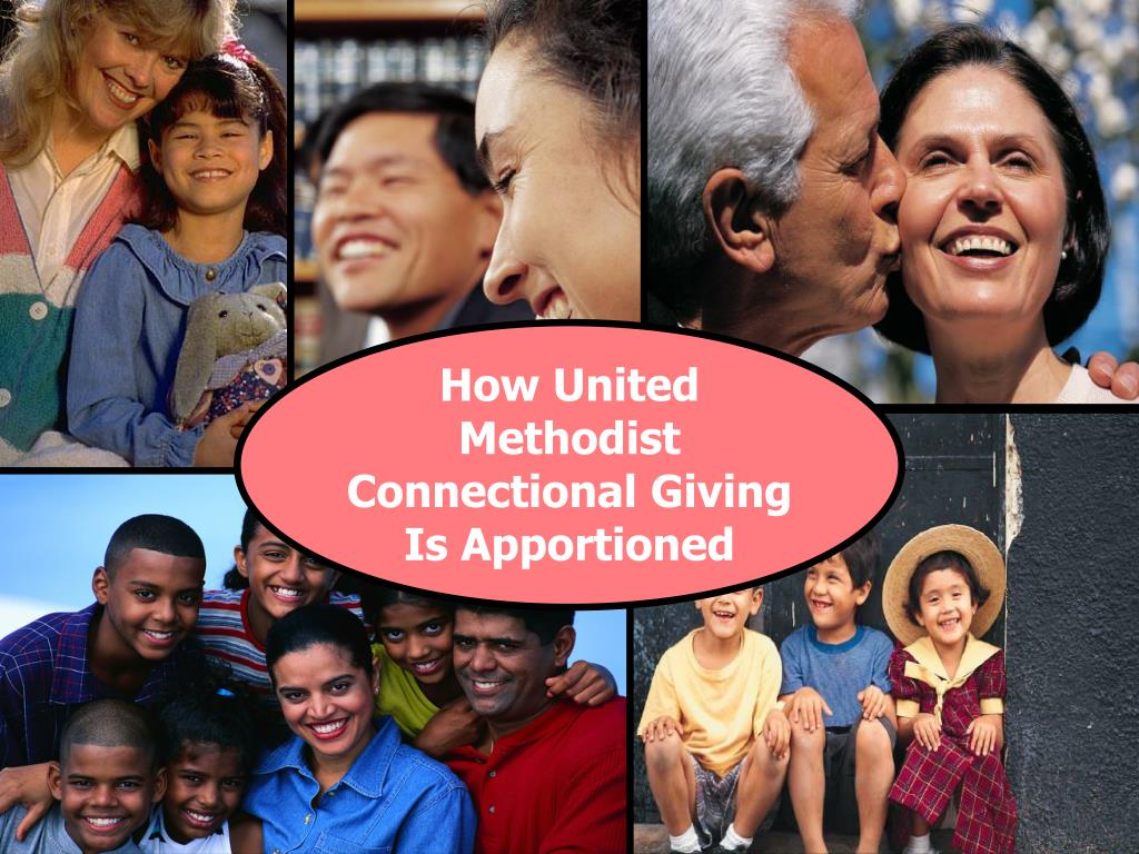 How United Methodist Connectional Giving Is Apportioned
