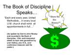 the book of discipline speaks