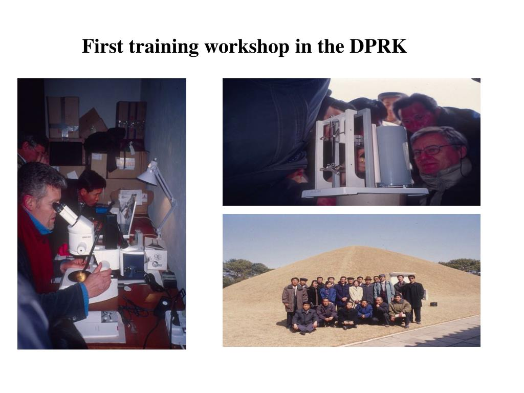 First training workshop in the DPRK