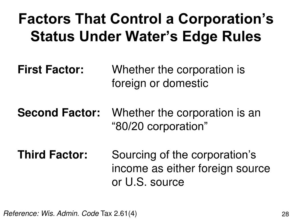 Factors That Control a Corporation's