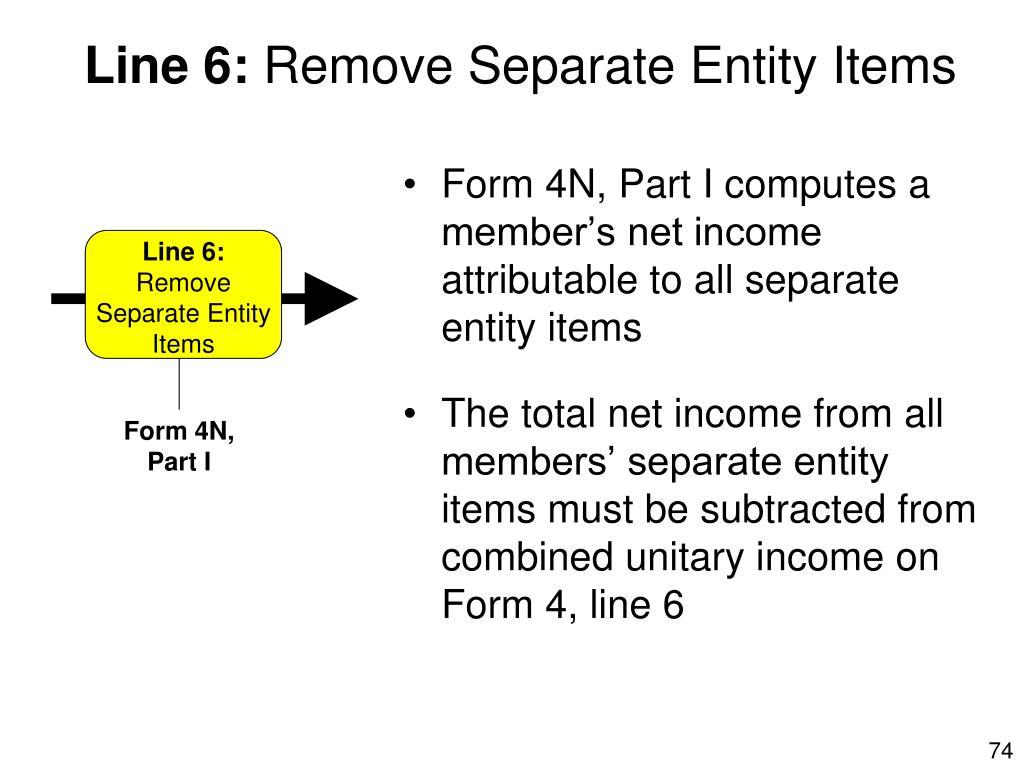 Form 4N, Part I