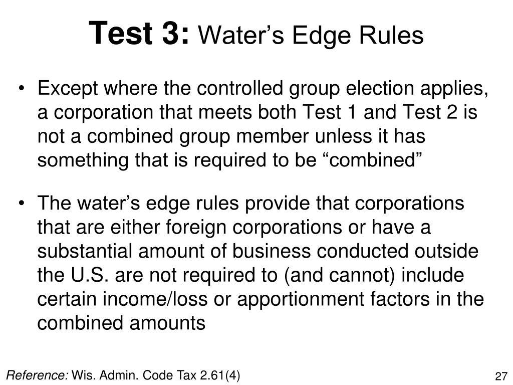Test 3: