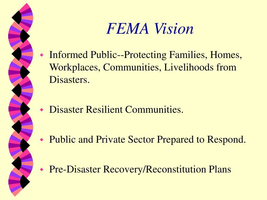 FEMA Vision