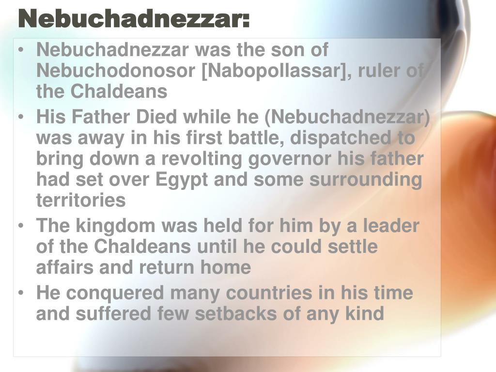 Nebuchadnezzar: