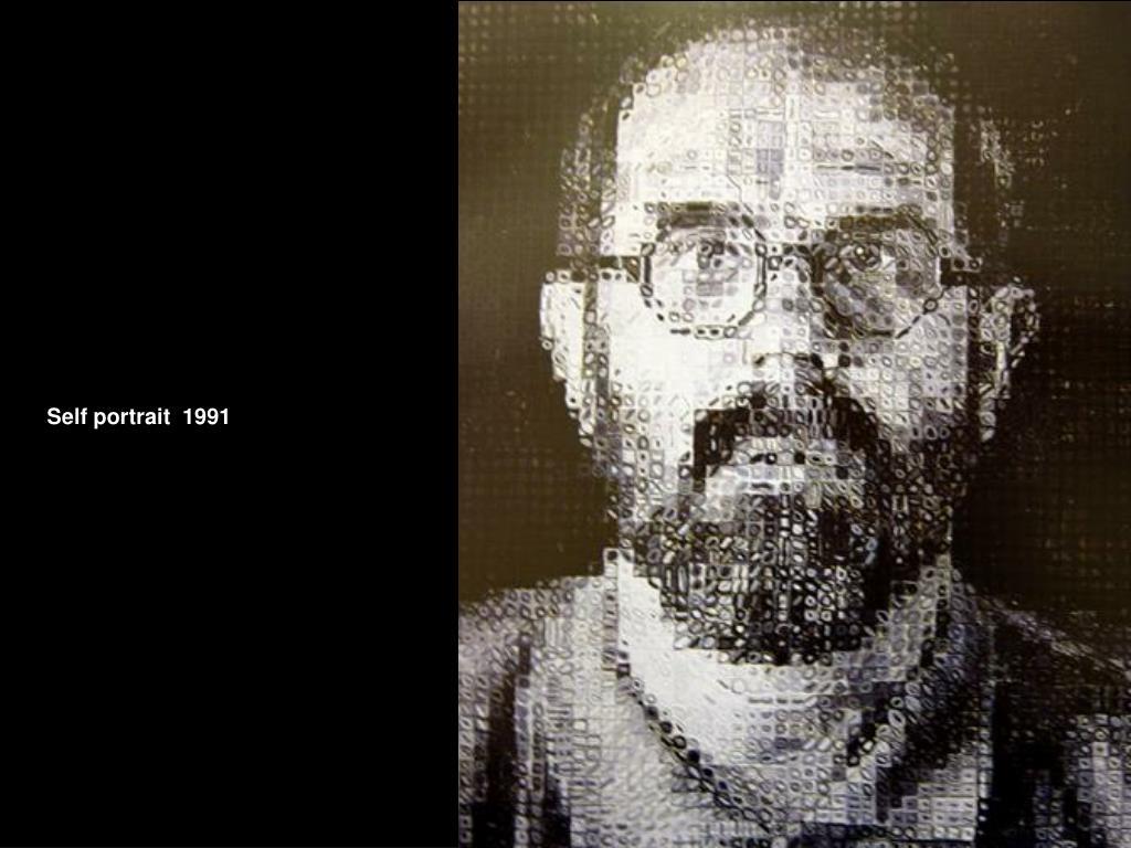 Self portrait  1991