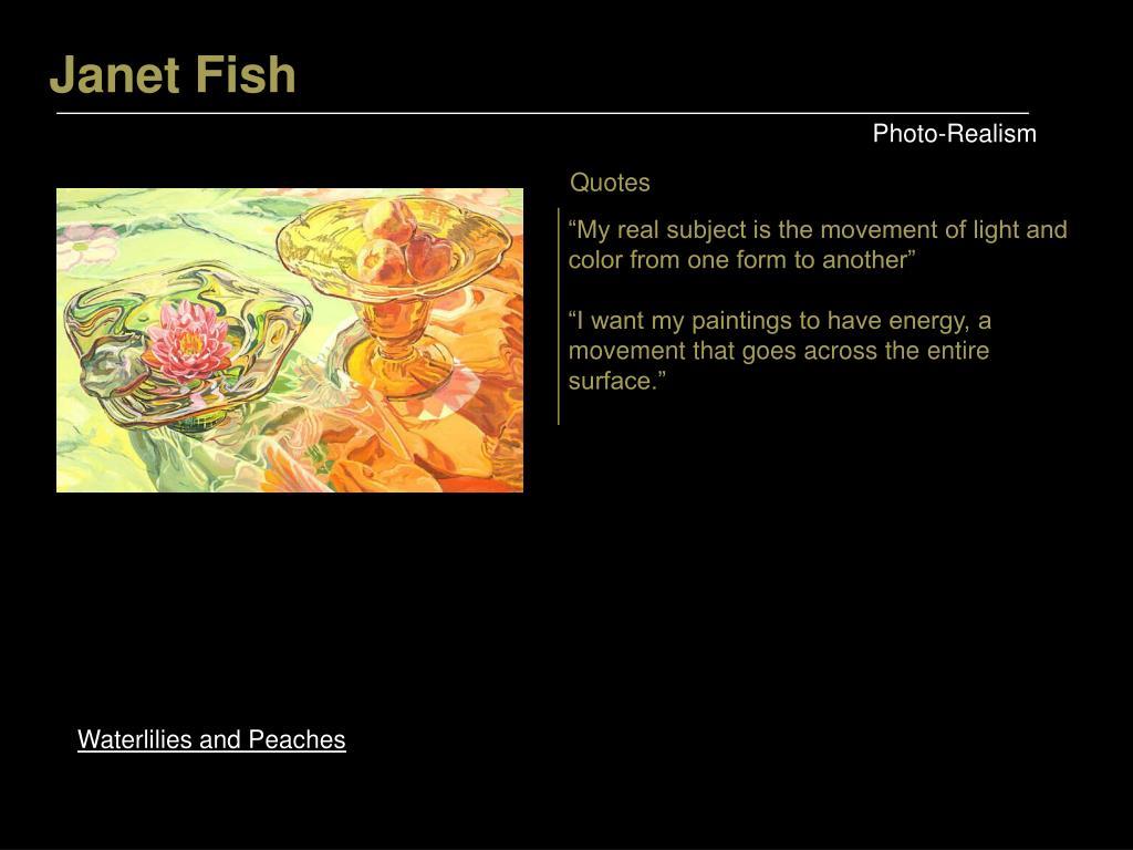 Janet Fish