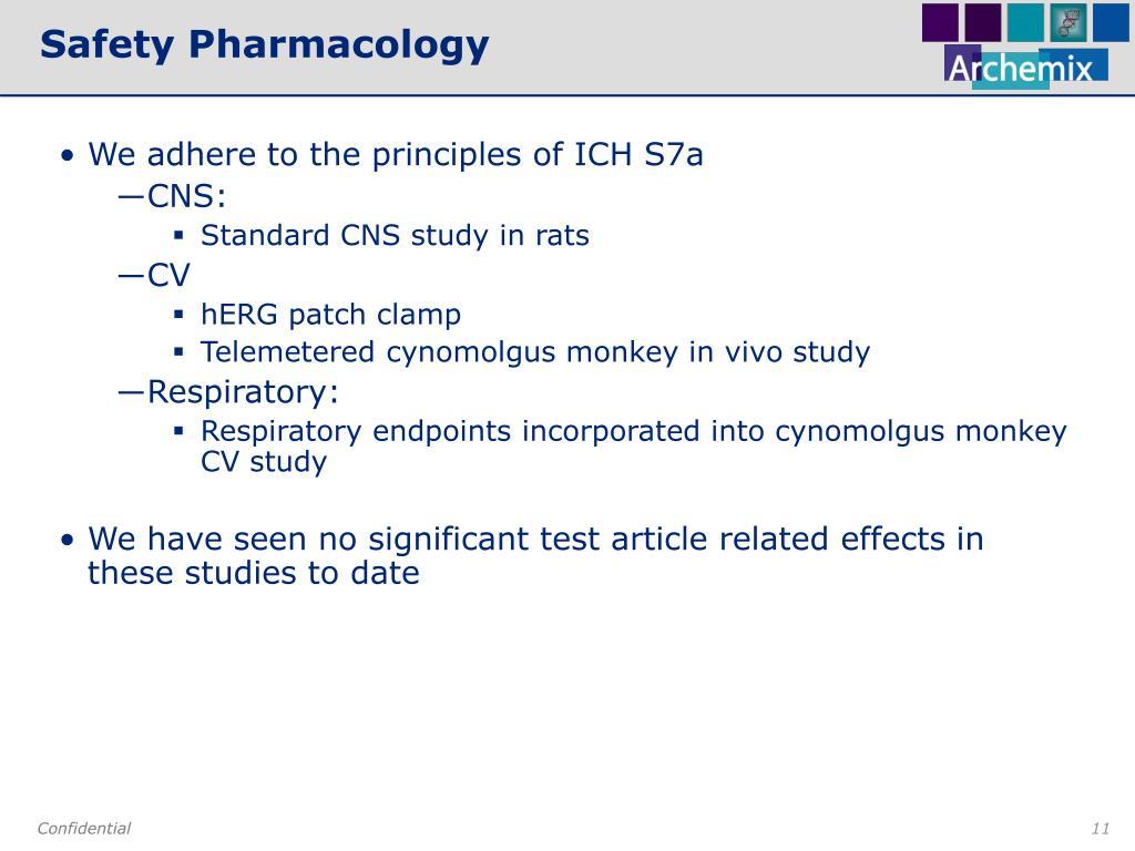 Safety Pharmacology
