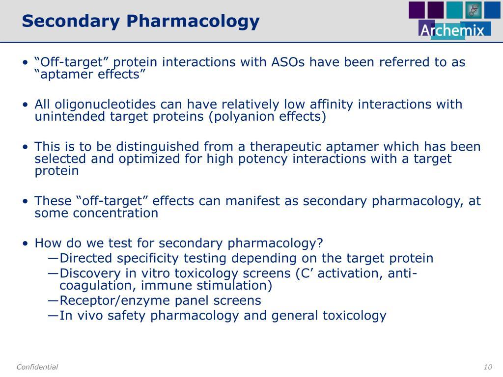 Secondary Pharmacology