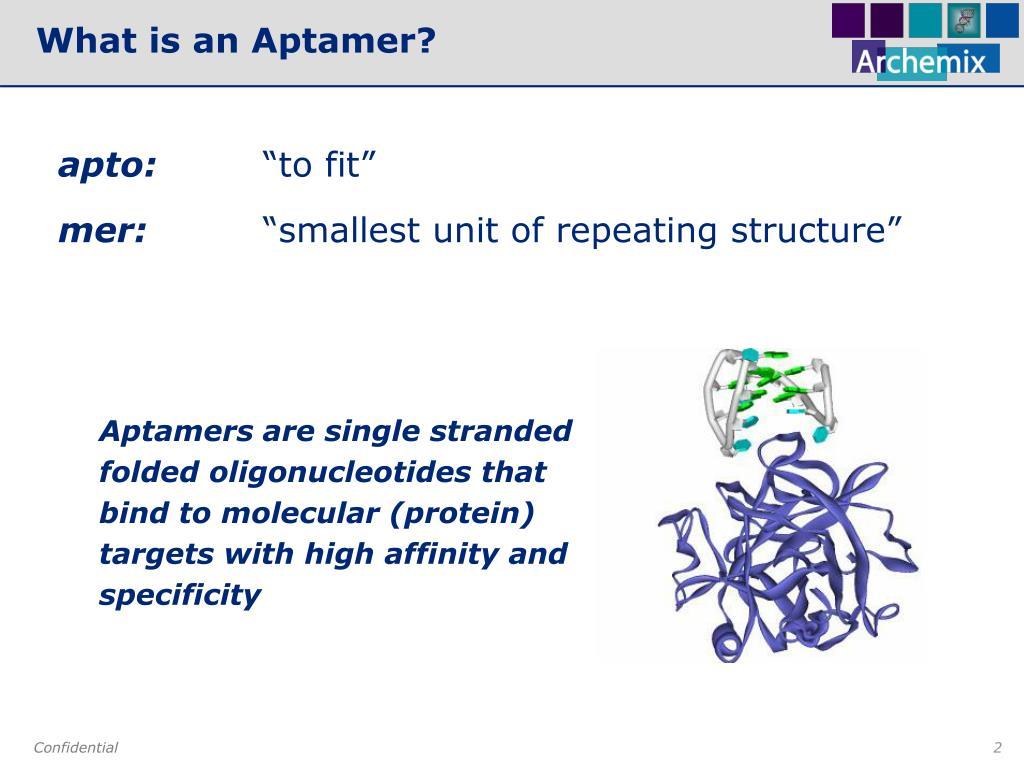 What is an Aptamer?