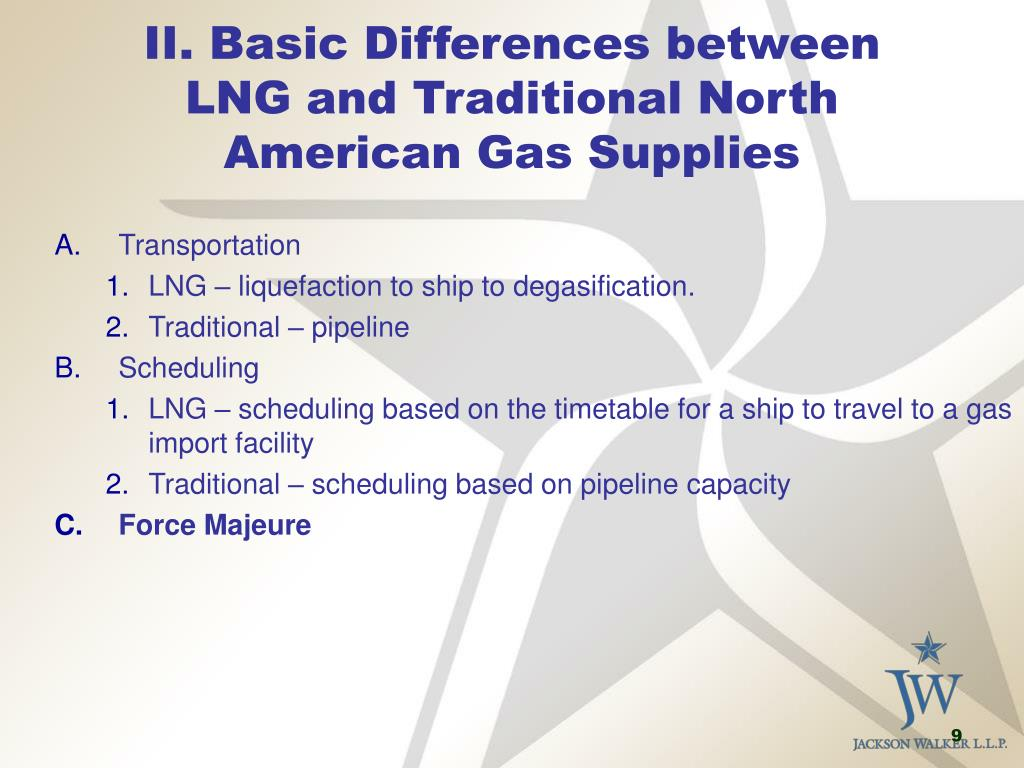 II. Basic Differences between