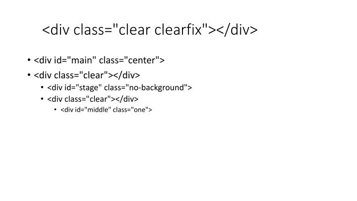 "<div class=""clear clearfix""></div>"
