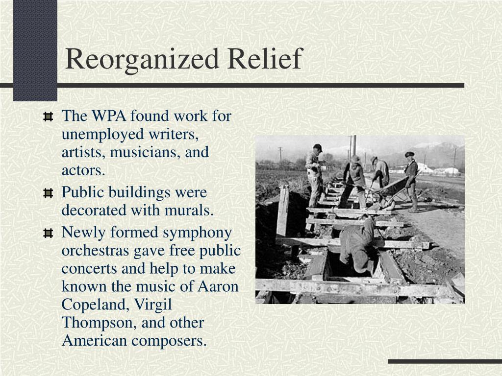Reorganized Relief