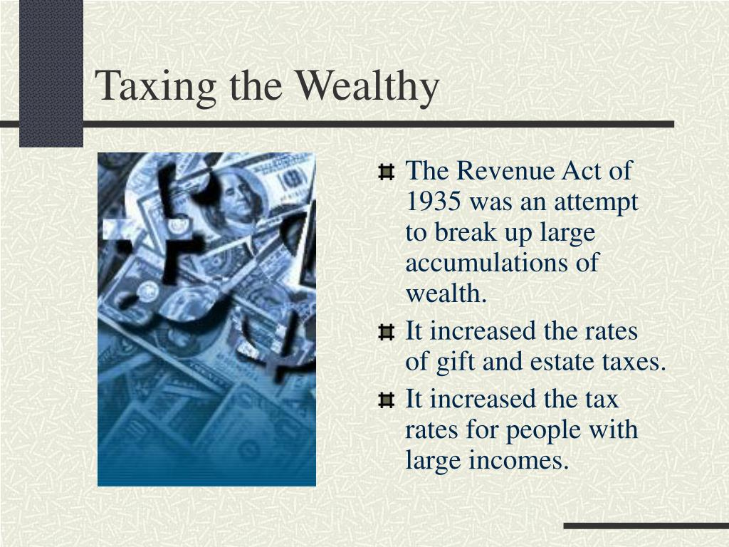 Taxing the Wealthy