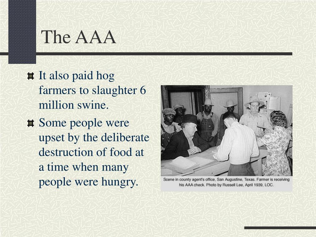 The AAA