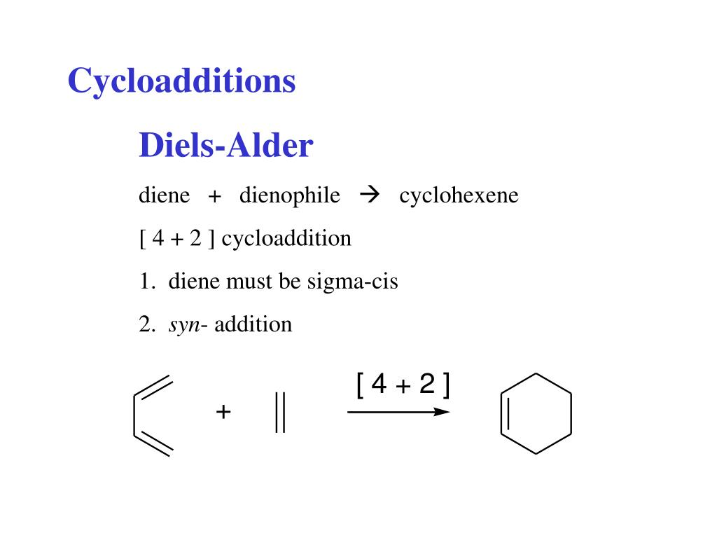 Cycloadditions