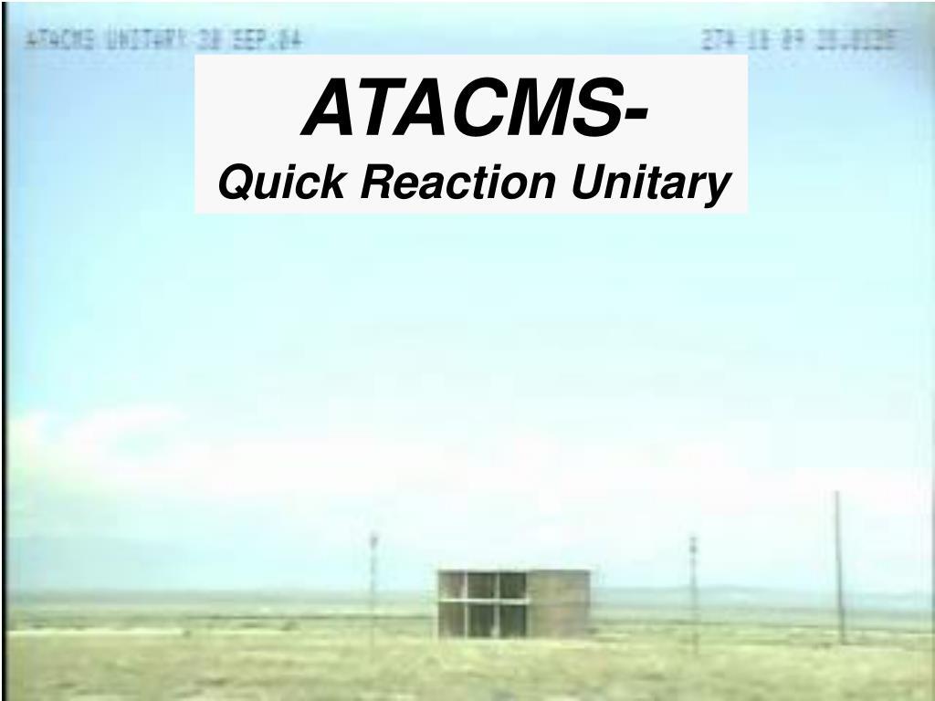 ATACMS-