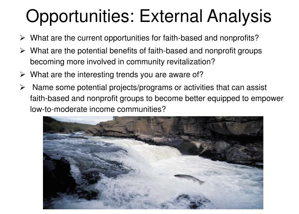 Opportunities: External Analysis