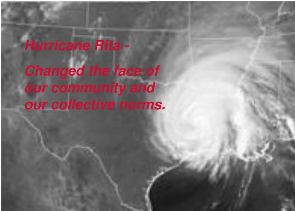 Hurricane Rita -
