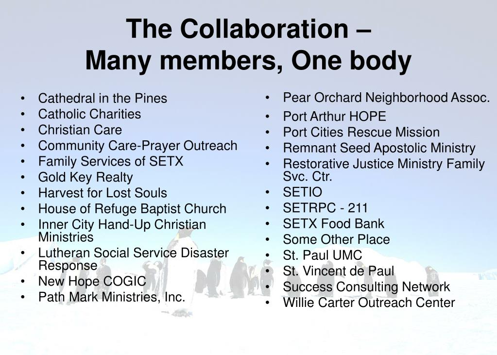 The Collaboration –