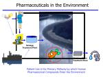 patient use is the primary pathway by which human pharmaceutical compounds enter the environment