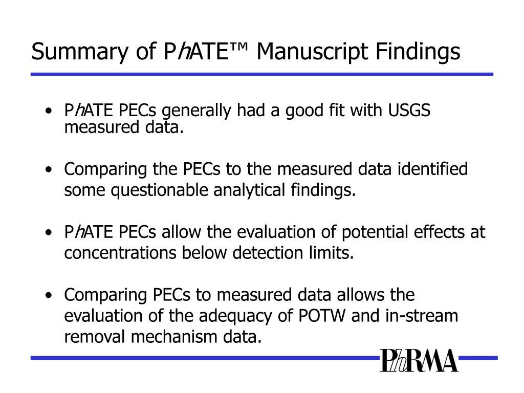 Summary of P
