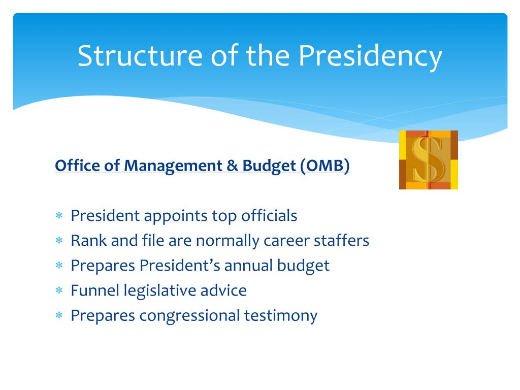 Structure of the Presidency
