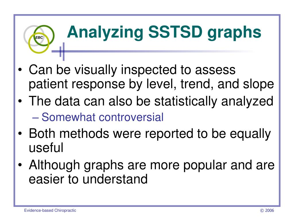 Analyzing SSTSD graphs