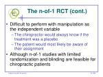 the n of 1 rct cont