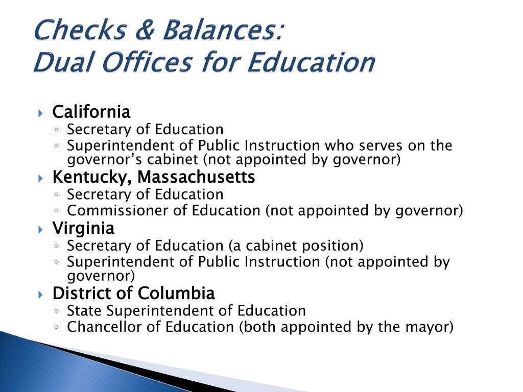 Checks & Balances:
