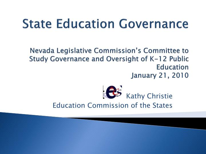 Kathy christie education commission of the states