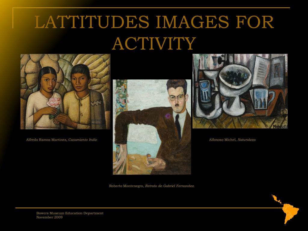 LATTITUDES IMAGES FOR ACTIVITY