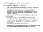 iii functions of emotion11