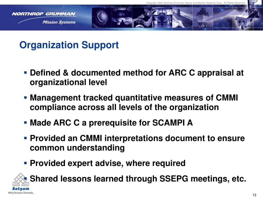Copyright 2003 Northrop Grumman Space and Mission Systems Corp.  All Rights Reserved.