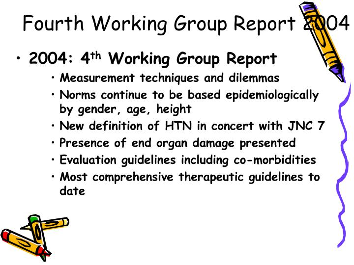 Fourth working group report 2004 l.jpg