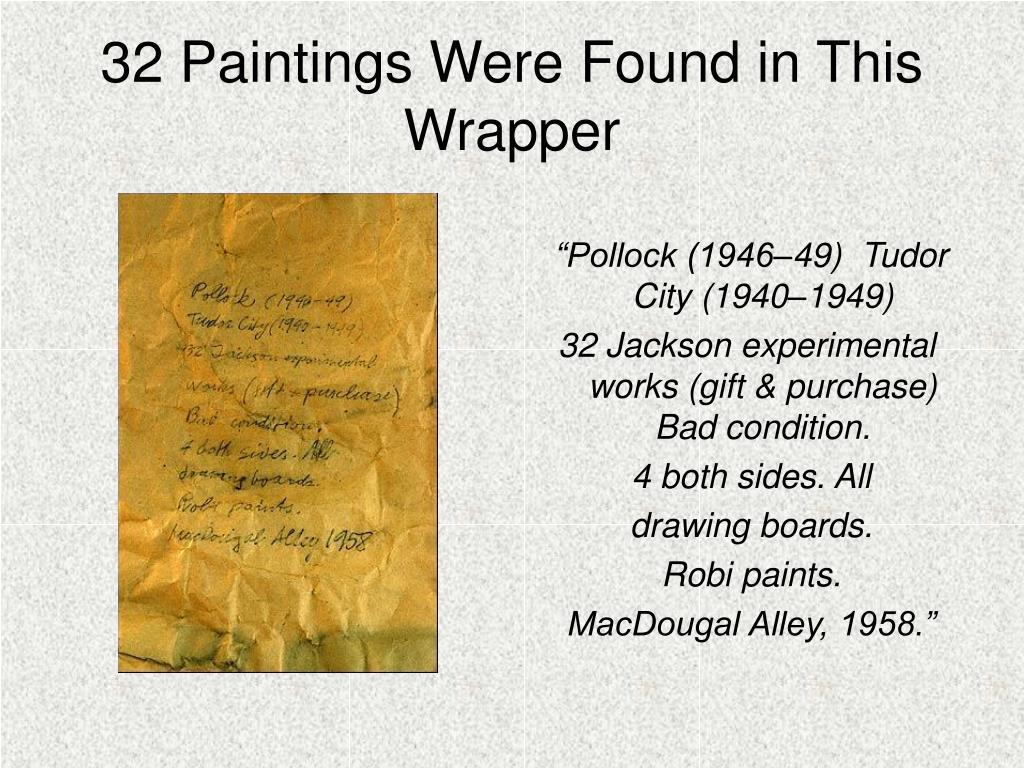 """""""Pollock (1946–49)  Tudor City (1940–1949)"""