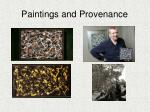 paintings and provenance