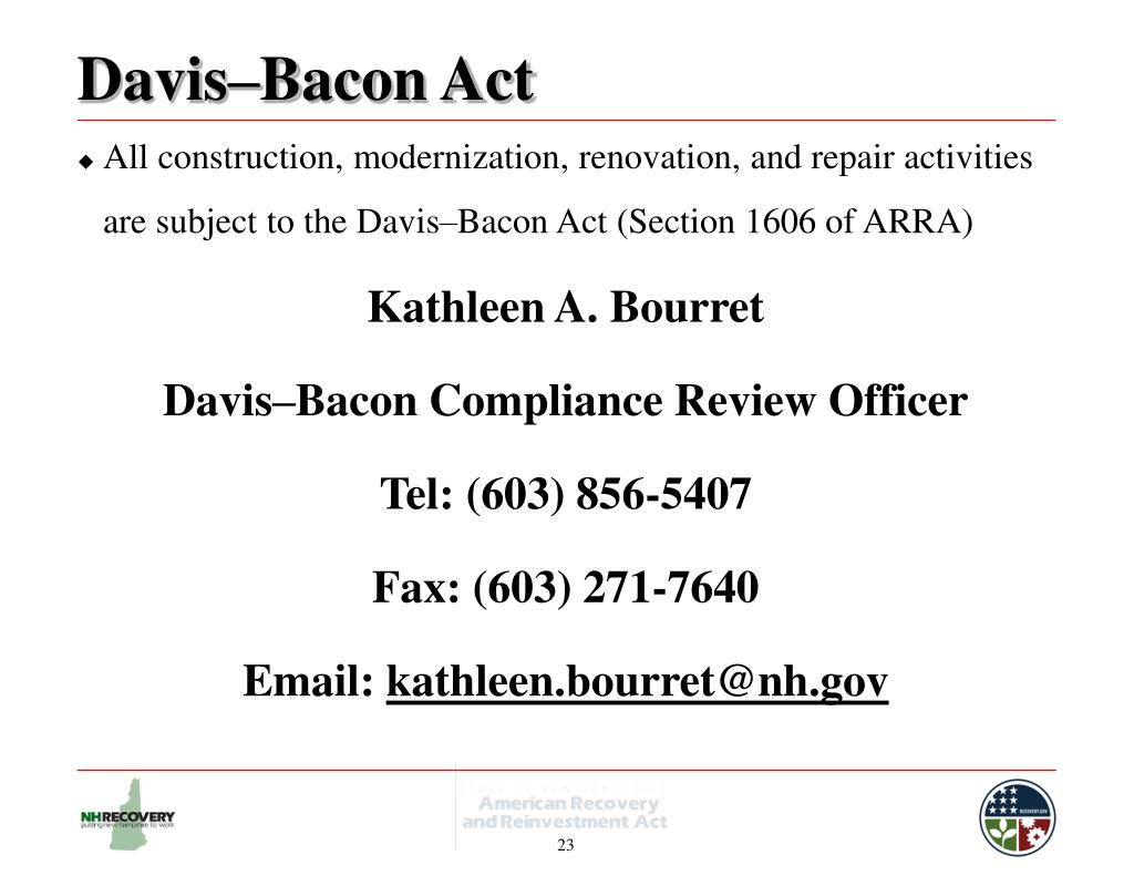 Davis–Bacon Act