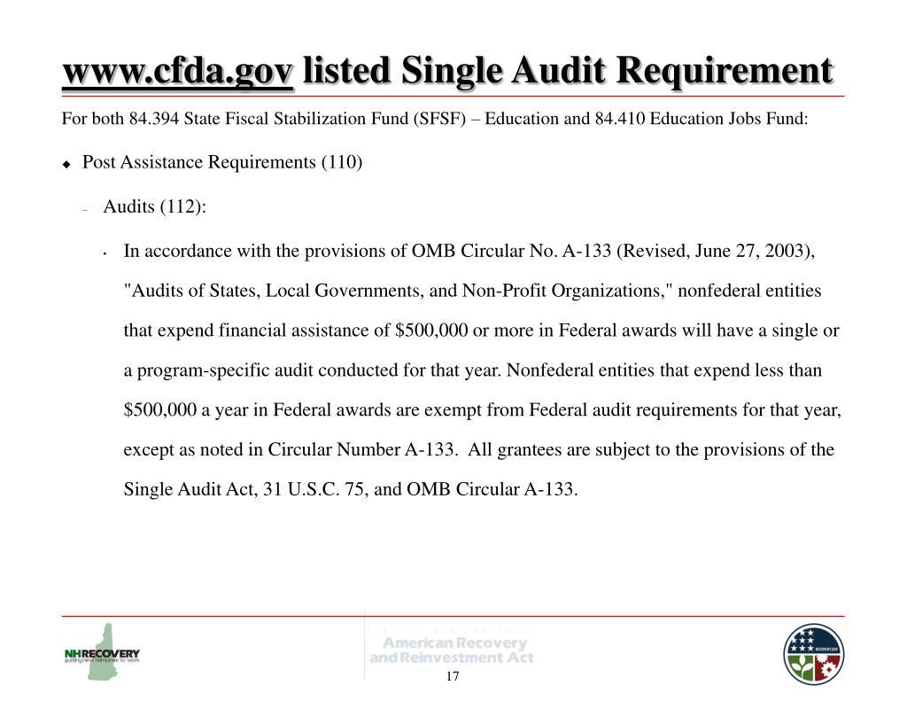 www.cfda.gov