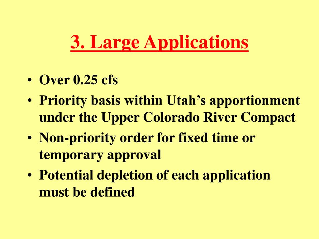 3. Large Applications