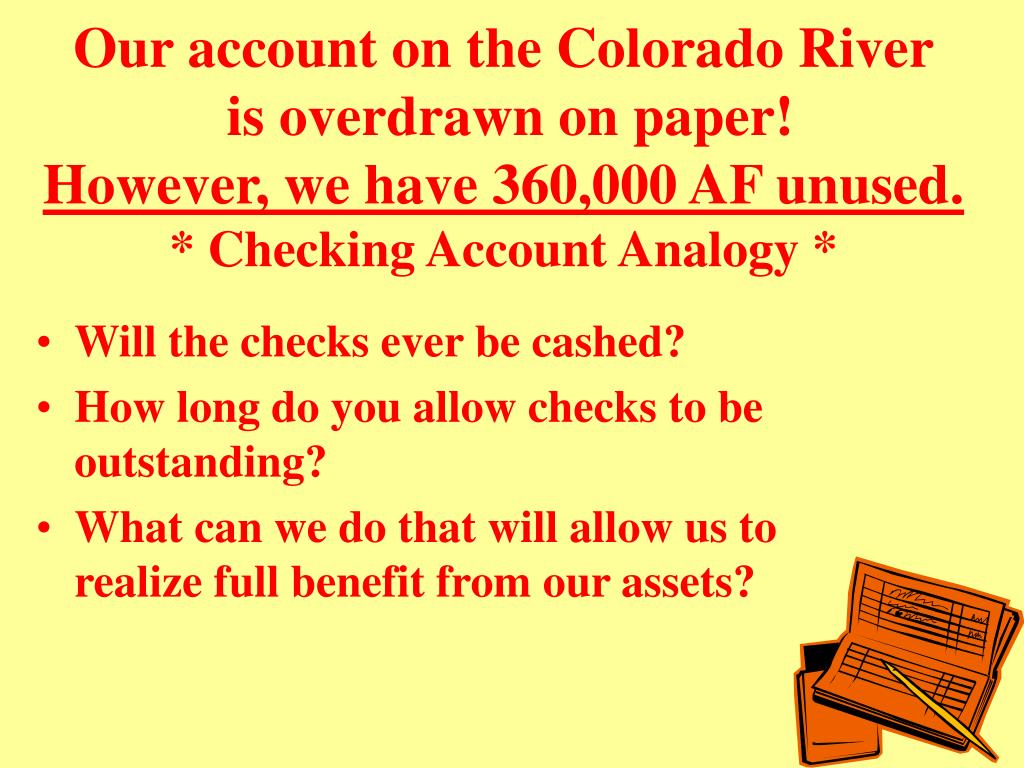 Our account on the Colorado River